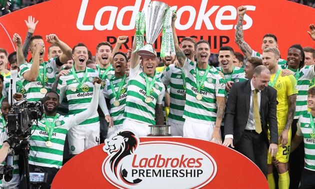 CHÍNH THỨC: Celtic vô địch Scottish Premiership 2019 - 2020 - Bóng Đá