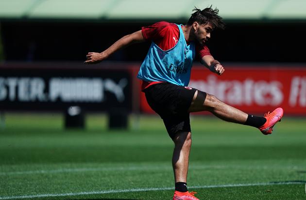 Ảnh AC Milan - Ibrahimovic tập ngày 21.5 - Bóng Đá