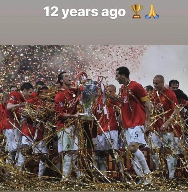Cristiano Ronaldo nhớ lại khoảnh khắc ngọt ngào cùng Manchester United.