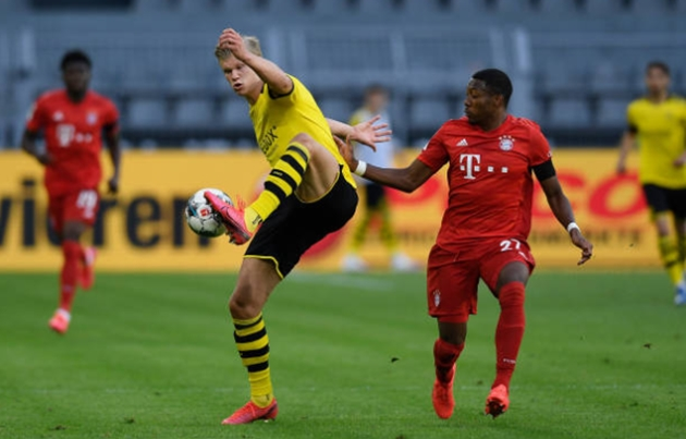 TRỰC TIẾP Dortmund 0-1 Bayern Munich (H1 kết thúc): Đội chủ nhà bị ép sân - Bóng Đá