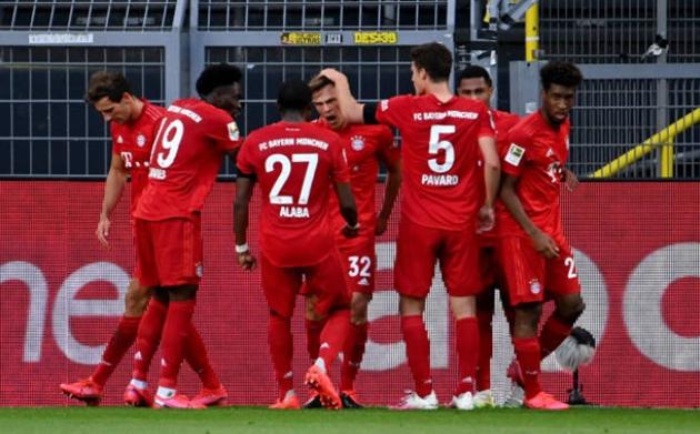 TRỰC TIẾP Dortmund - Bayern Munich (H1 kết thúc): Kimmich lập siêu phẩm! - Bóng Đá