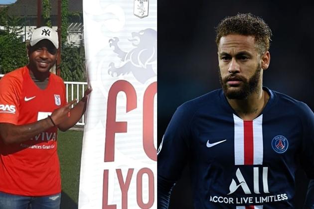 Rời Santos, em họ của Neymar cập bến FC Lyon