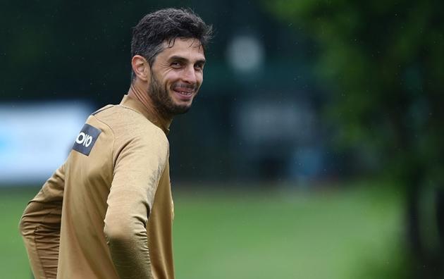 Ảnh Inter Milan tập ngày 4/6 - Bóng Đá
