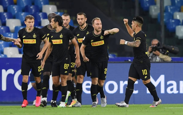 Eriksen lập siêu phẩm, Inter Milan vẫn bị