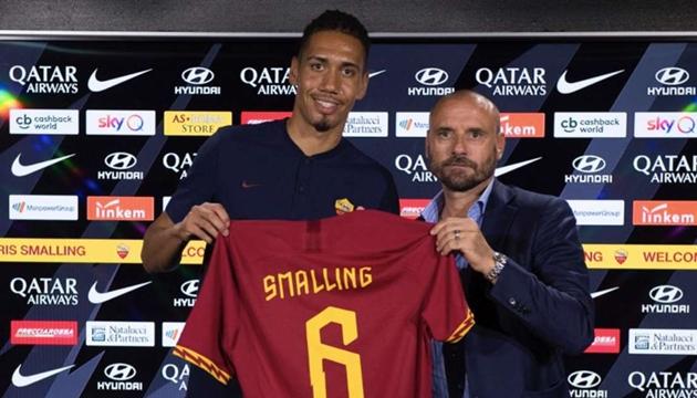 Gianluca Petrachi đã đưa Chris Smalling đến AS Roma.