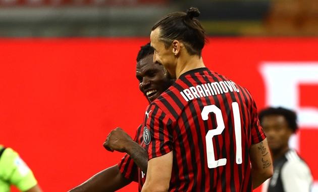 Ibrahimovic để ngỏ khả năng chia tay AC Milan - Bóng Đá