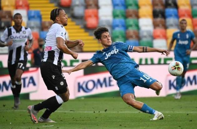 Ronaldo nhạt nhòa, De Ligt mắc lỗi phút 90+2, Juve thua sốc Udinese - Bóng Đá