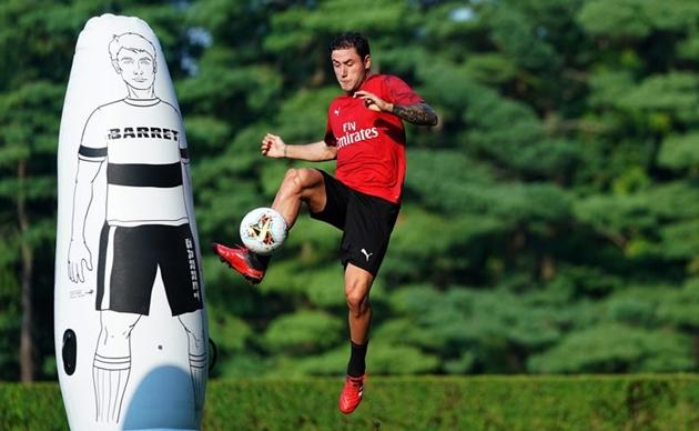 Ảnh AC Milan tập ngày 27/7 - Bóng Đá