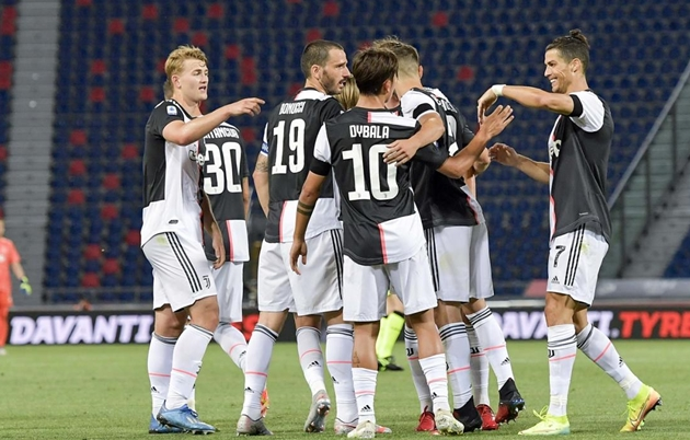 CHÍNH THỨC: Juventus chốt danh sách 21 cầu thủ tham dự Champions League - Bóng Đá