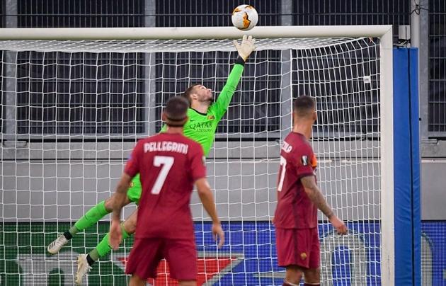 Ảnh trận Sevilla - AS Roma - Bóng Đá