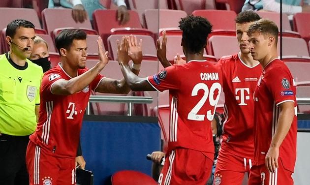 Ảnh Ivan Perisic ăn mừng cùng Bayern - Bóng Đá