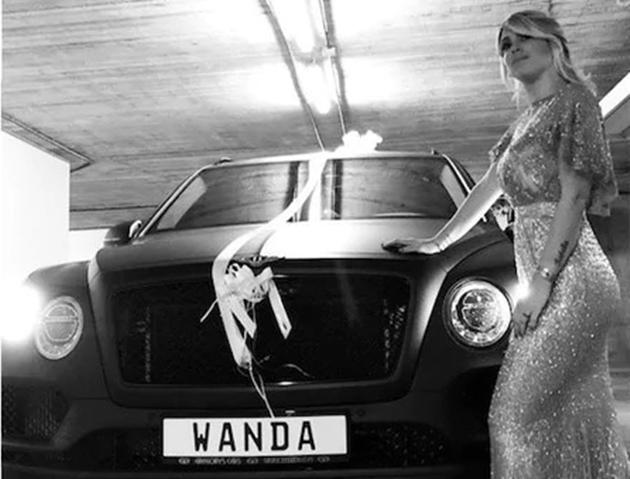 Dàn siêu xe của Wanda Nara - Bóng Đá