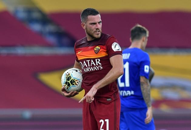 Jordan Veretout vẫn ở lại AS Roma - Bóng Đá