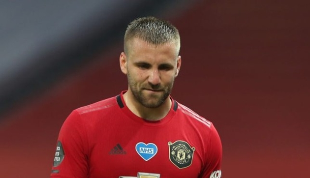 Luke Shaw admits Manchester United's pre-season has been 'disjointed' after Aston Villa defeat - Bóng Đá