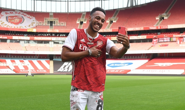 Mikel Arteta and Edu react to Pierre-Emerick Aubameyang signing new Arsenal deal - Bóng Đá