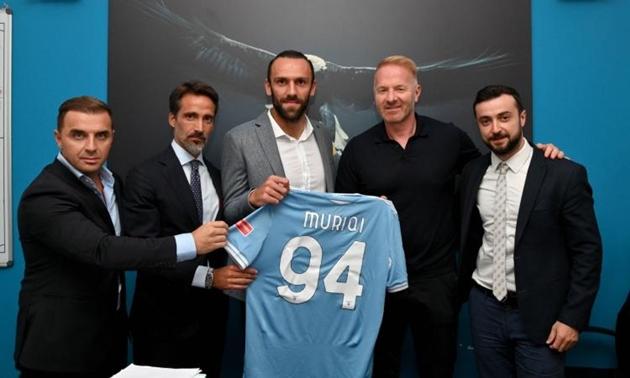 CHÍNH THỨC: Vedat Muriqi chuyển đến Lazio - Bóng Đá