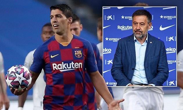 Bartomeu xác nhận Barca không mua Depay và Lautaro; giữ chân Suarez - Bóng Đá