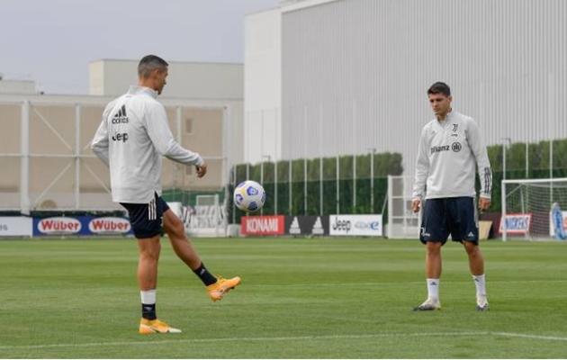 Gặp lại Morata ở Juve, Ronaldo phản ứng ra sao? - Bóng Đá