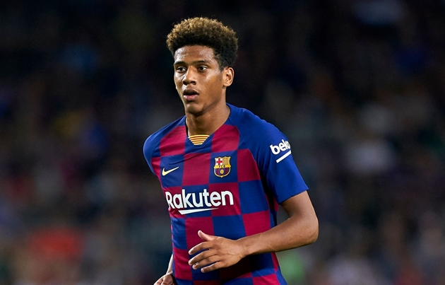 Barcelona centre-back Jean-Clair Todibo has been linked with Fulham - Bóng Đá