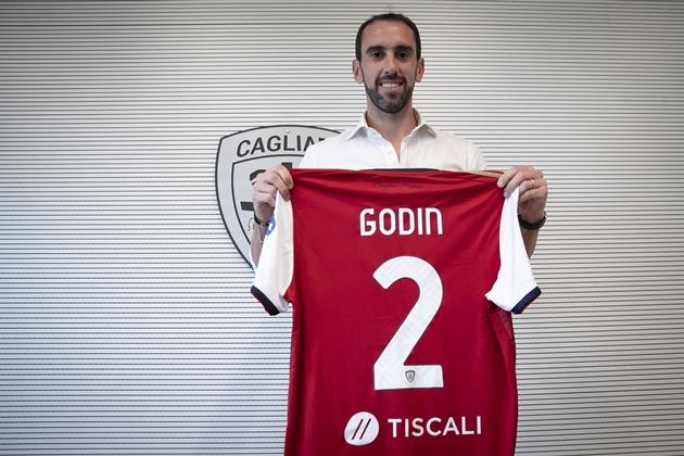 CHÍNH THỨC: Diego Godin gia nhập Cagliari - Bóng Đá