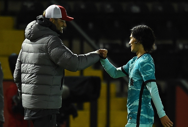 Jurgen Klopp explains where Takumi Minamino will fit in Liverpool team alongside Diogo Jota - Bóng Đá