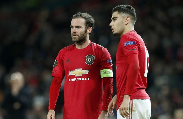 Lazio are making a double swoop on Manchester United, as they look to bring Juan Mata and Andreas Pereira to Italy - Bóng Đá