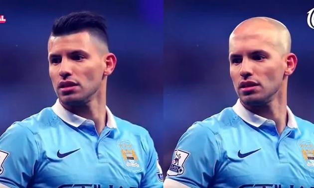 Ronaldo, Cavani sẽ ra sao khi chia tay mái tóc? - Bóng Đá