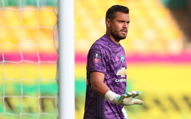 United blocked Everton move for Romero - Bóng Đá