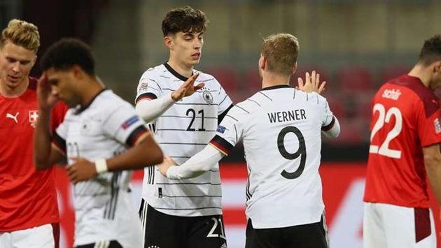 'We're a young side' - Germany star Havertz happy with character shown in Switzerland comeback - Bóng Đá