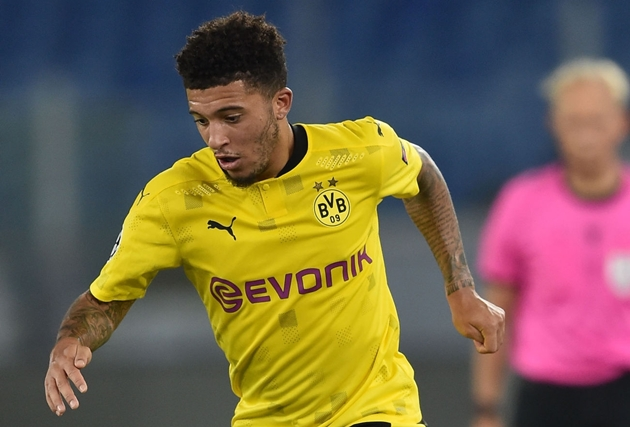 Jadon Sancho's head not totally on BVB, criticism after summer of Man United claims - Bóng Đá