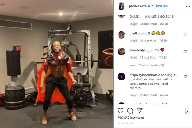 Patrice Evra quẩy điên cuồng - Bóng Đá