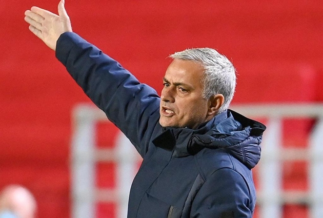 Mourinho offers no excuses as 'awful' Tottenham are beaten in Europe - Bóng Đá