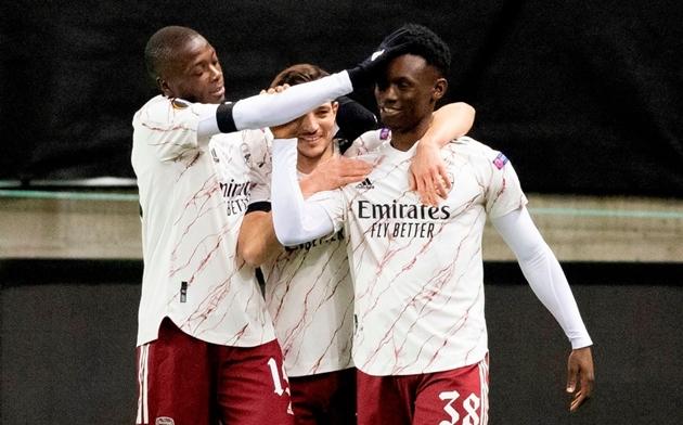 Cú sút ấy đã mở ra chiến thắng cho Arsenal. Trong khoảng thời gian còn lại, Reiss Nelson và Folarin Balogun đã ghi thêm 2 bàn thắng nữa, giúp The Gunners giành trọn vẹn 3 điểm.