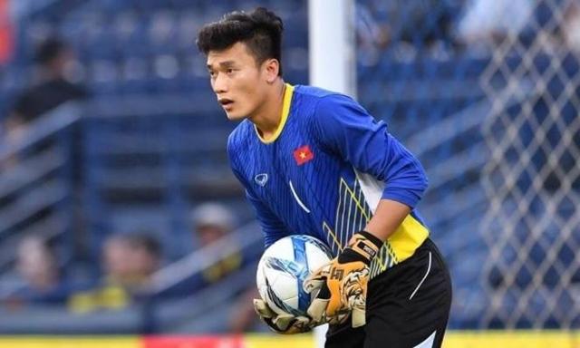 Thủ môn của U23 Việt Nam luôn là điểm tựa tinh thần vững chắc cho các đồng đội phía trên.