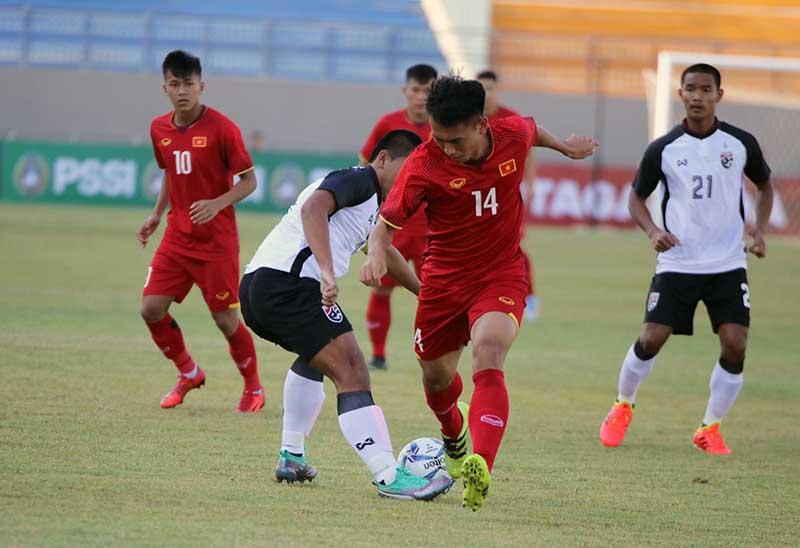 U19 Việt Nam thua đậm U19 Qatar ở giải Tứ hùng - Bóng Đá