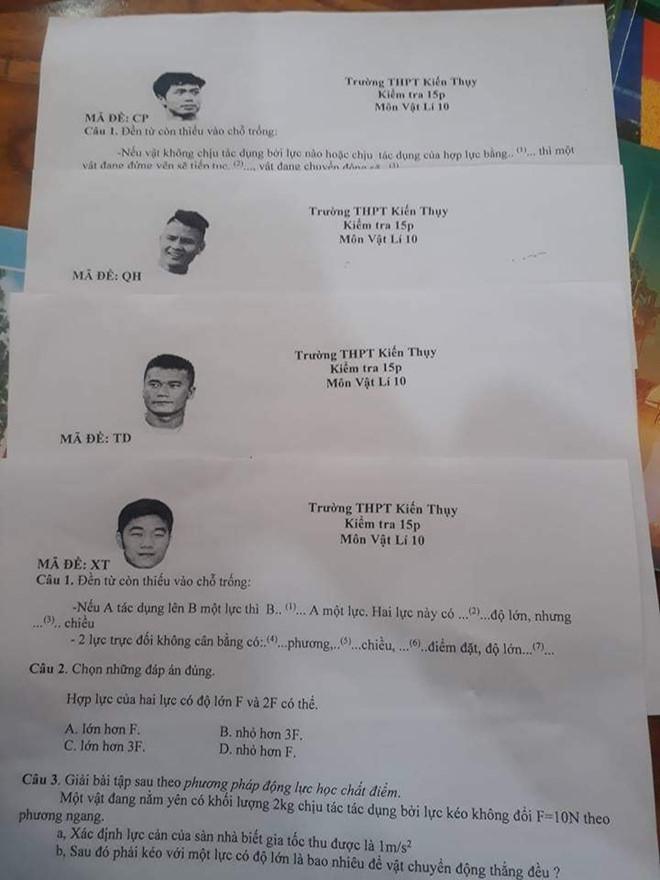 Điểm tin bóng đá Việt Nam sáng 11/11: Tuyển thủ ĐT Việt Nam xuất hiện trong đề thi vật lý - Bóng Đá