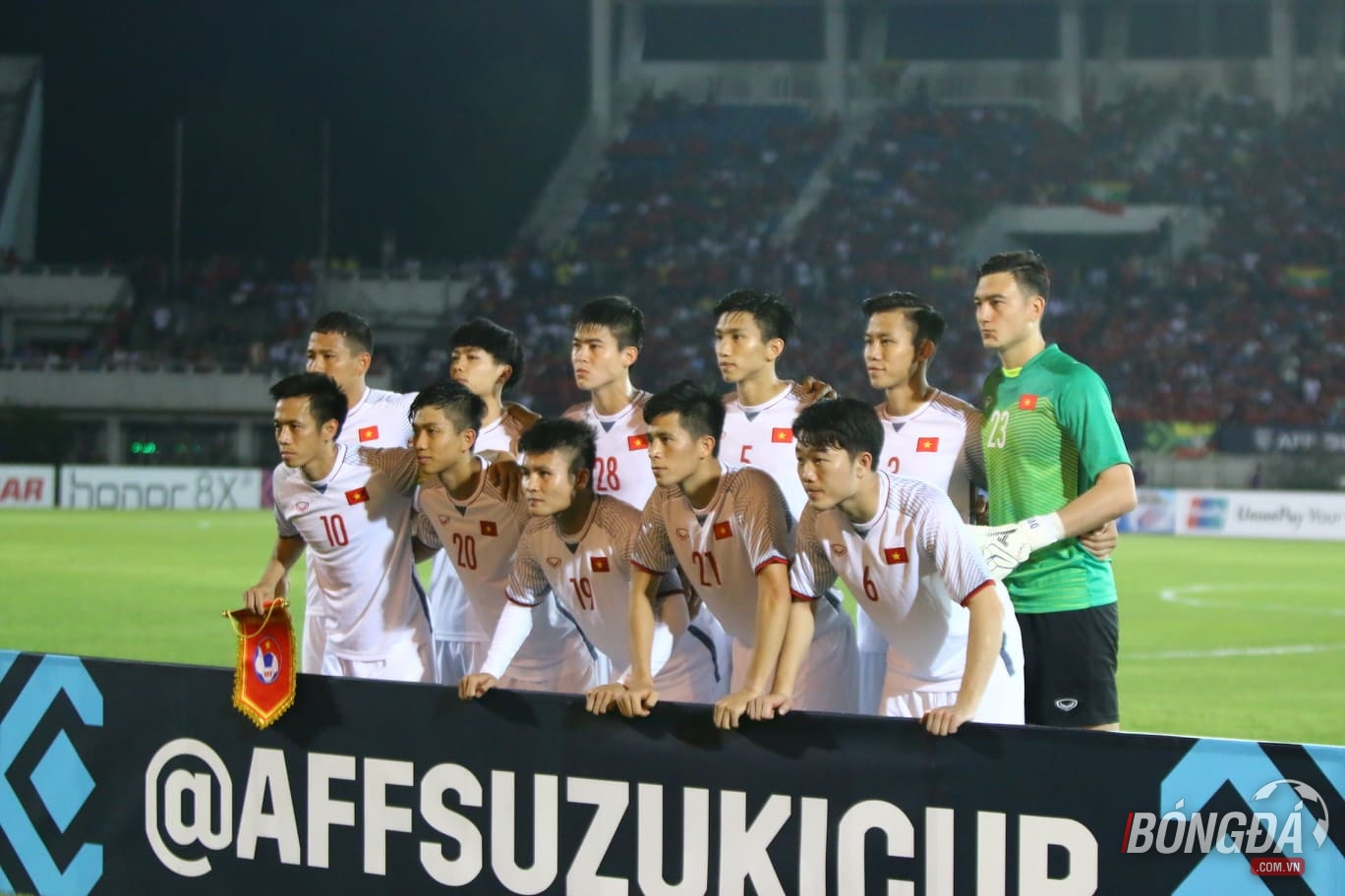 TRỰC TIẾP ĐT Myanmar 0-0 ĐT Việt Nam: Hiệp 1 bắt đầu - Bóng Đá