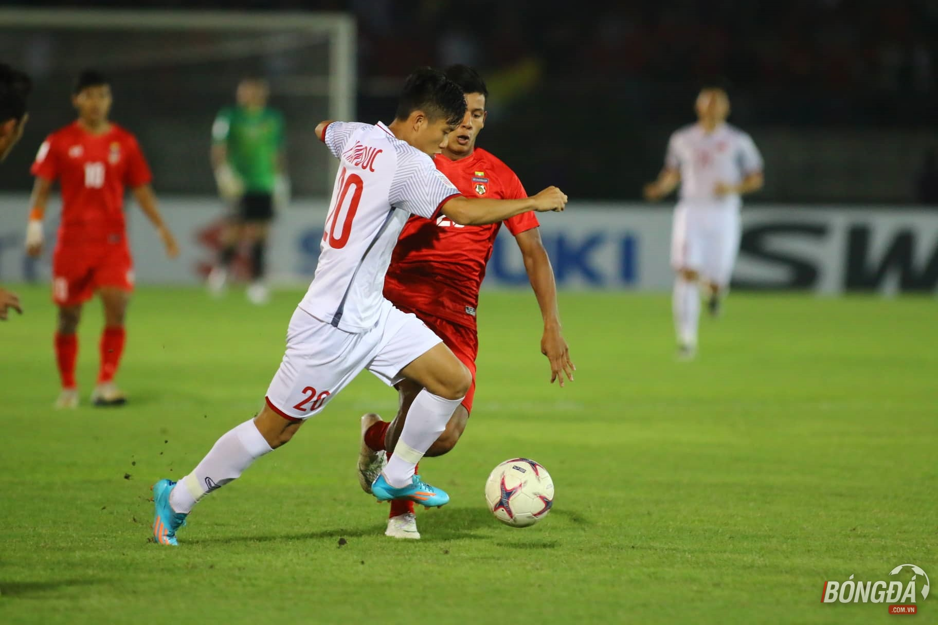 TRỰC TIẾP ĐT Myanmar 0-0 ĐT Việt Nam: Việt Nam dần lấy lại thế trận - Bóng Đá