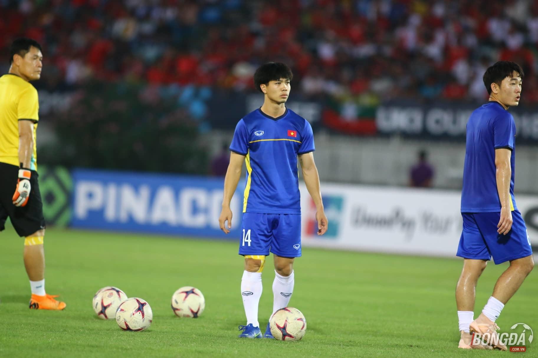 TRỰC TIẾP ĐT Myanmar 0-0 ĐT Việt Nam: Văn Quyết trở lại đội hình chính - Bóng Đá