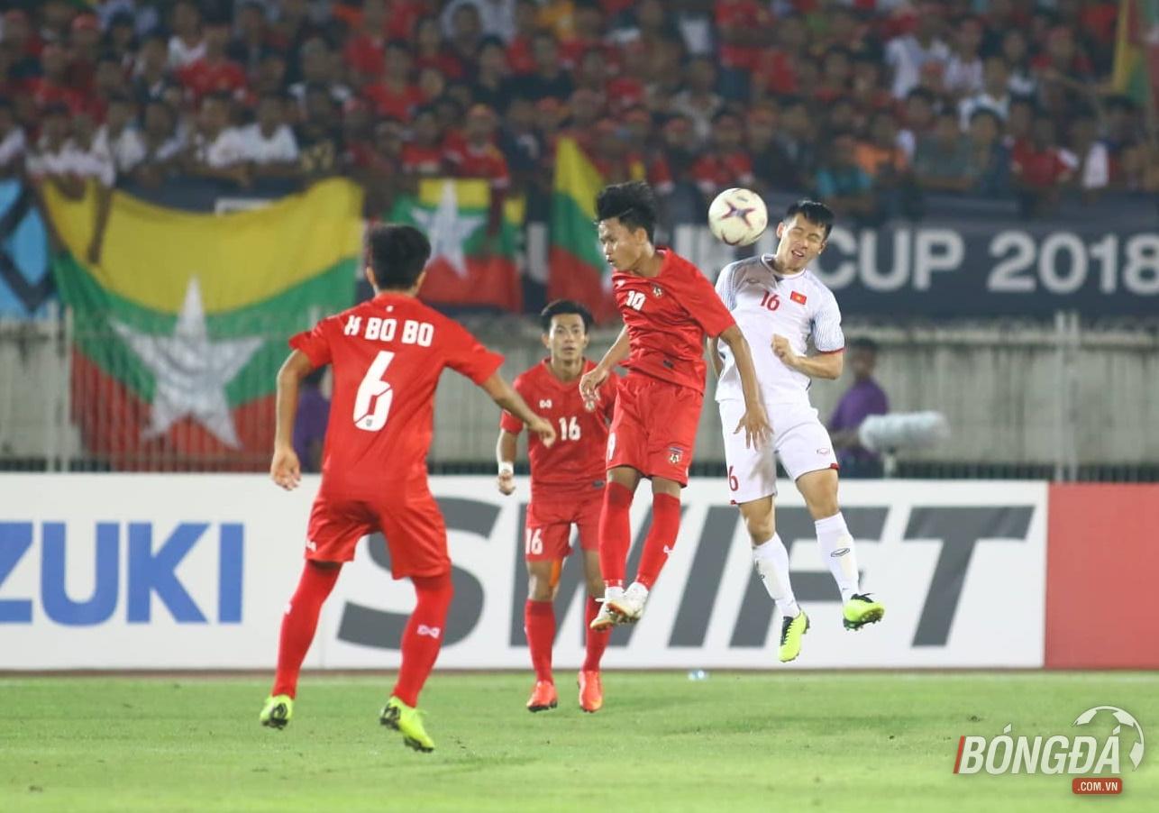 TRỰC TIẾP ĐT Myanmar 0-0 ĐT Việt Nam: Công Phượng dứt điểm nguy hiểm - Bóng Đá