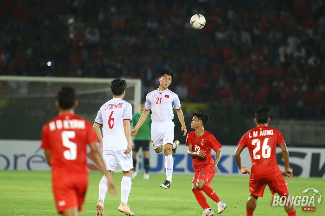 TRỰC TIẾP ĐT Myanmar 0-0 ĐT Việt Nam: Đấu trí căng thẳng - Bóng Đá