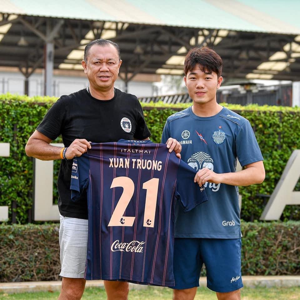 Chính thức: Xuân Trường ra mắt Buriram United, mang số áo 21 - Bóng Đá