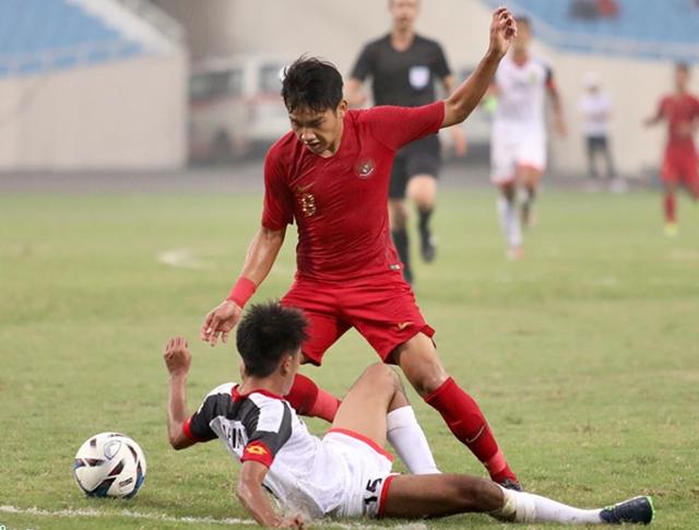 Thủ môn nhận thẻ đỏ, U23 Indoneisa vất vả đánh bại Bruinei - Bóng Đá