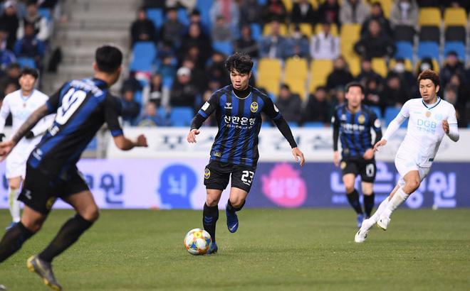Công Phượng dự bị, đồng đội nhận thẻ đỏ, Incheon United thua thảm - Bóng Đá