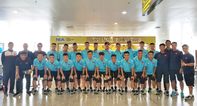 U18 Việt Nam lên đường tham dự giải U18 Quốc tế