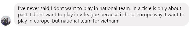 Thủ môn Việt kiều Filip Nguyễn phủ nhận thông tin không muốn khoác áo ĐT Việt Nam - Bóng Đá