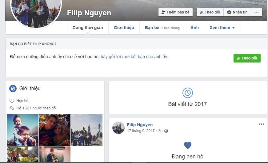 Bị hiểu lầm, Filip Nguyễn có hành động gây