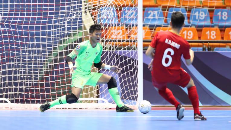 Ngược dòng bất thành, U20 Việt Nam dừng chân ở Tứ kết giải U20 Futsal châu Á  - Bóng Đá
