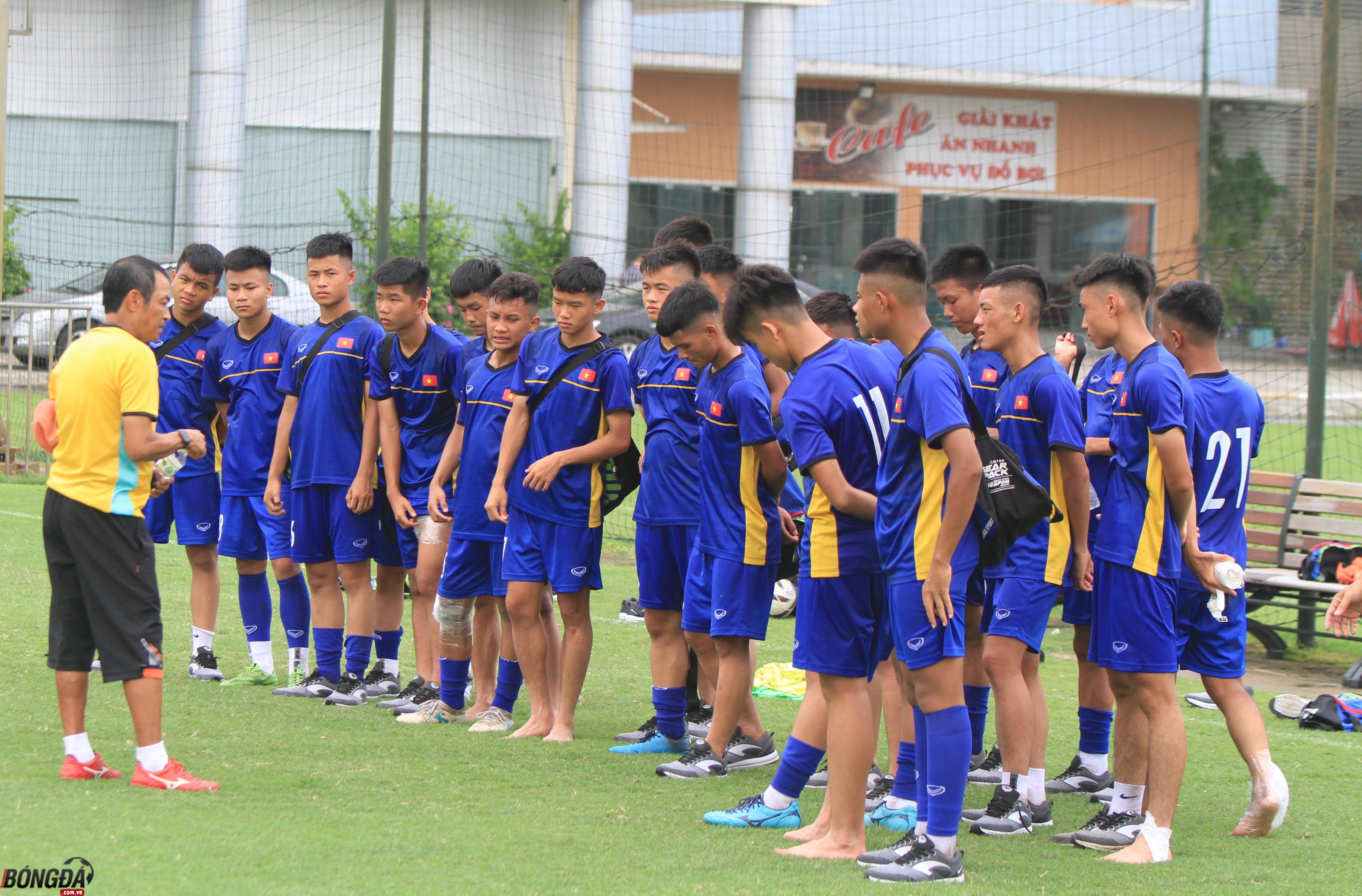 U15 Việt Nam quyết tâm vào chung kết giải U15 Đông Nam Á - Bóng Đá