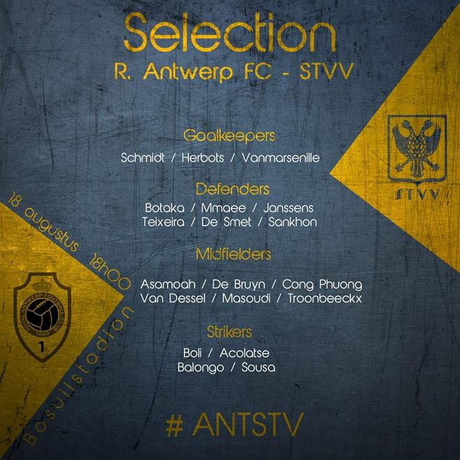 NÓNG: Sint-Truidense đăng ký Công Phượng ở vòng 4 giải VĐQG Bỉ - Bóng Đá